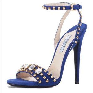 Prada Open Toe Heels